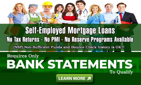 Self-Employed Mortgage Loans